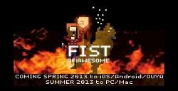 像素风《无敌铁拳:FIST OF AWESOME》五月登陆