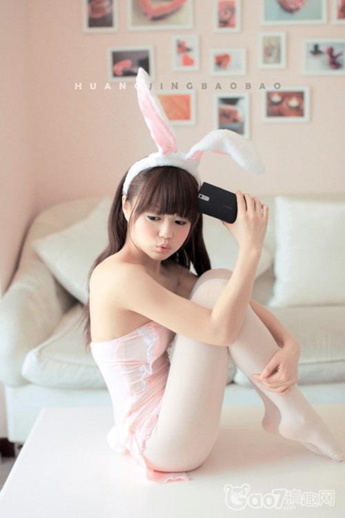 萌兔系美少女粉嫩图集登场