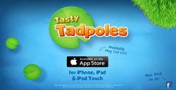 益智休闲小游戏《Tasty Tadpoles》预告视频