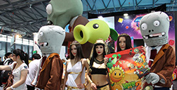 《植物大战僵尸2》:顶级娱乐盛会Chinajoy展台