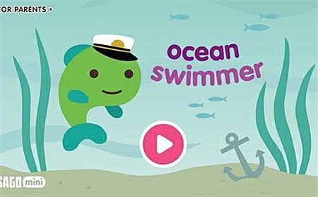 采用触摸互动的方式,将小孩子带进一个充满欢乐的海洋世界,和小鱼鳍儿
