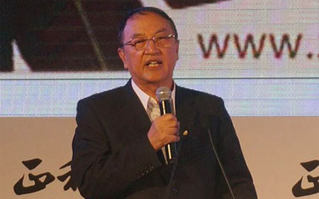 """联想控股董事长柳传志今日在""""2014正和岛新年家宴"""