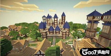 《我的世界》建筑物之维纳斯城堡