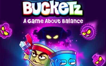 游戏画面非常出色,从主题场景到主角水桶的造型