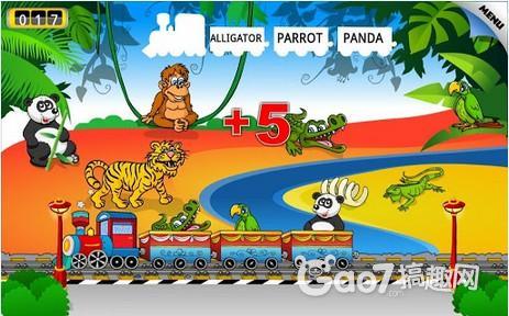 《儿童动物火车》评测:学英语从娃娃抓起