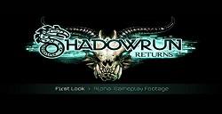 《暗影狂奔:归来:Shadowrun Returns》超长试玩视频公布