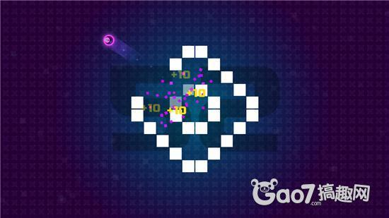 《霓虹节拍新开变态传世页游》评测:绕圈打砖块